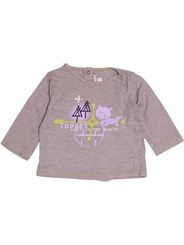 Camiseta de manga larga niño ORCHESTRA violeta 6 meses invierno #1486936_1
