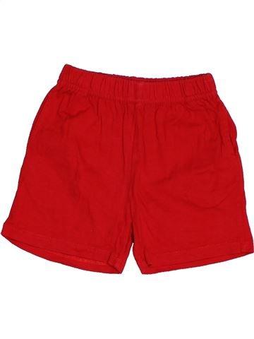 Short - Bermuda garçon DPAM rouge 12 mois été #1486941_1
