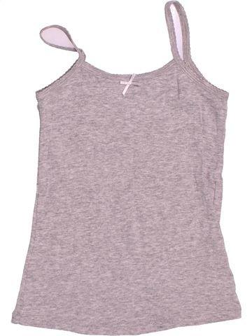 T-shirt sans manches fille LA HALLE gris 6 ans été #1487035_1