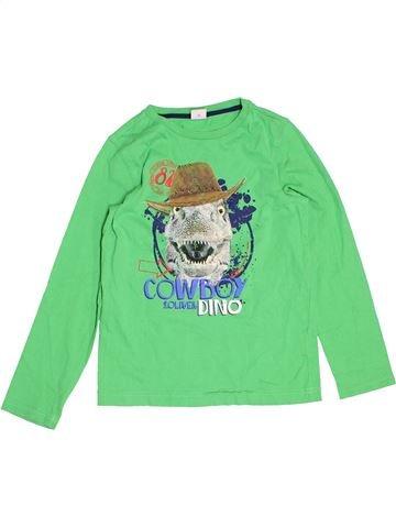 T-shirt manches longues garçon S.OLIVER vert 9 ans hiver #1487259_1
