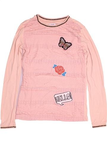 T-shirt manches longues fille OVS rose 14 ans hiver #1487261_1