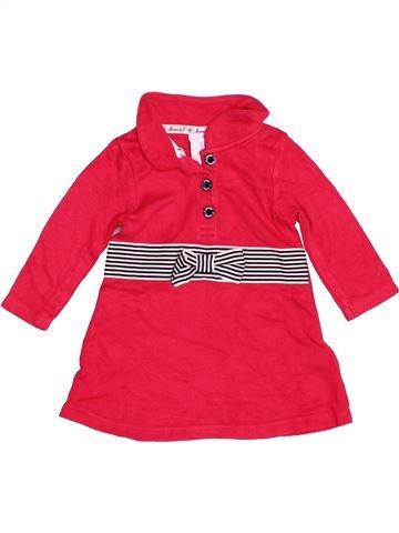 Robe fille JASPER CONRAN rouge 3 mois hiver #1487267_1
