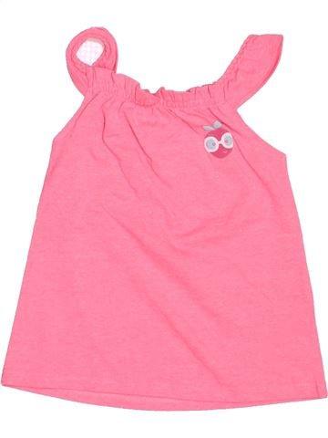 Camiseta sin mangas niña GEMO rosa 3 años verano #1487371_1