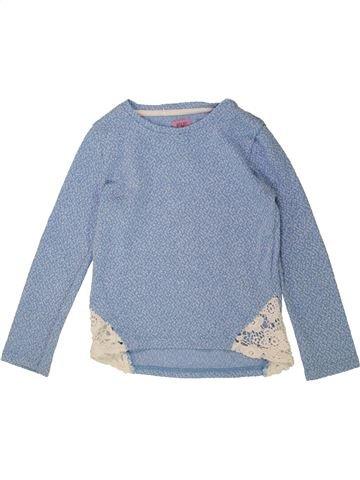 Pull fille F&F bleu 7 ans hiver #1487400_1