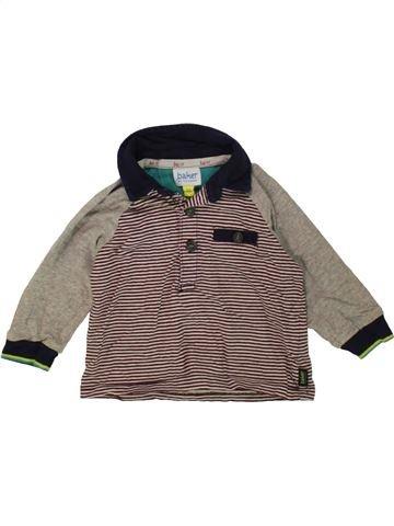 Polo de manga larga niño TED BAKER marrón 6 meses invierno #1487421_1