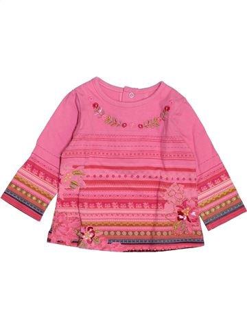 Camiseta de manga larga niña KENZO rosa 6 meses invierno #1487453_1