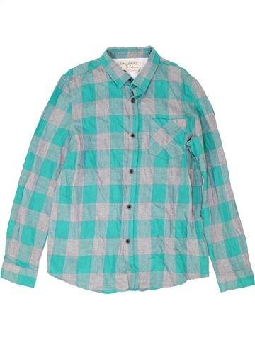 Chemise manches longues garçon ZARA bleu 14 ans hiver #1487619_1