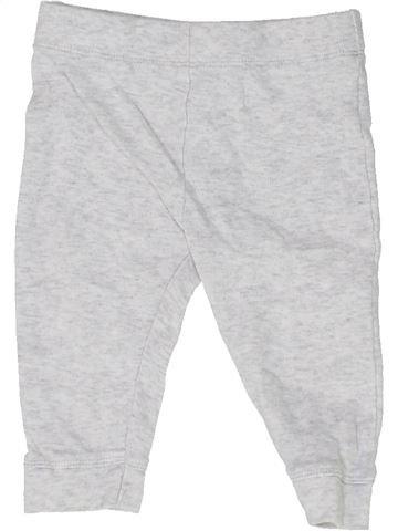 Pantalon garçon SANS MARQUE blanc 6 mois été #1487739_1