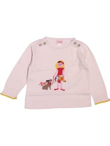 jersey niña MARÈSE rosa 12 meses invierno #1488001_1