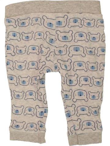 Pantalon garçon F&F gris 6 mois été #1488261_1