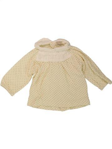 T-shirt manches longues fille ZIP ZAP beige 3 mois hiver #1488279_1