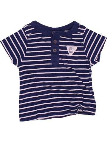 T-shirt manches courtes garçon TAPE À L'OEIL gris 3 mois été #1488381_1