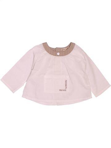 Blusa de manga larga niña GRAIN DE BLÉ rosa 3 meses invierno #1488433_1