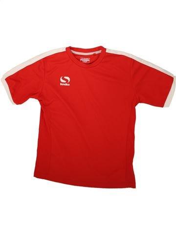 Maillot de sport garçon SONDICO rouge 12 ans été #1488448_1