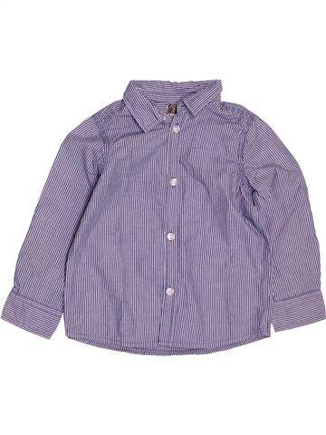 Chemise manches longues garçon TAPE À L'OEIL gris 3 ans hiver #1488500_1