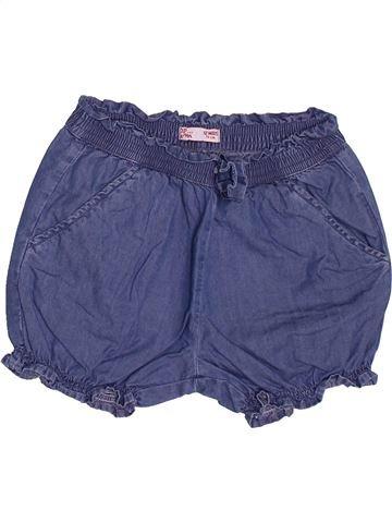 Short - Bermuda fille DPAM bleu 12 mois été #1488602_1