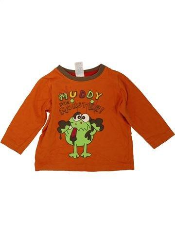 T-shirt manches longues garçon URBAN RASCALS orange 18 mois hiver #1488732_1