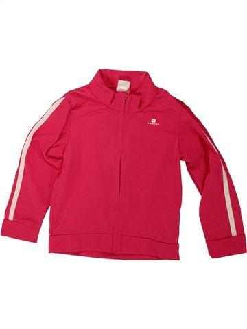Ropa deportiva niña DOMYOS rojo 3 años invierno #1488771_1