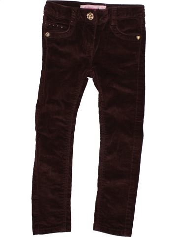 Pantalon fille LISA ROSE marron 3 ans hiver #1488827_1