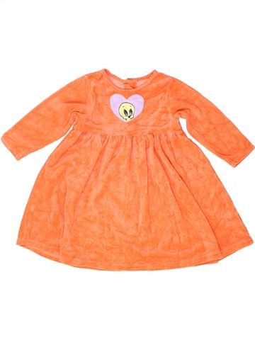 Chemise de nuit fille MOTHERCARE orange 2 ans hiver #1488854_1