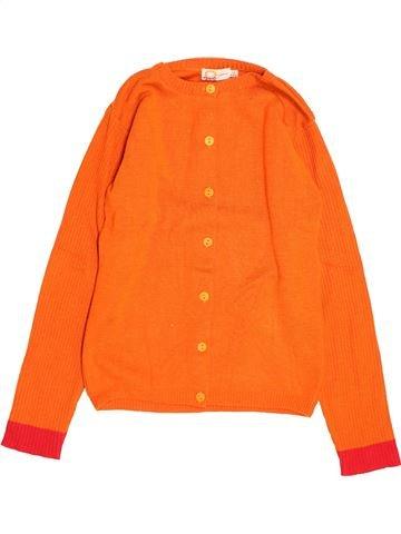 Gilet fille DPAM orange 14 ans hiver #1488993_1