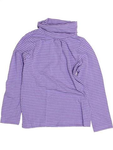 T-shirt col roulé fille LISA ROSE bleu 4 ans hiver #1489141_1