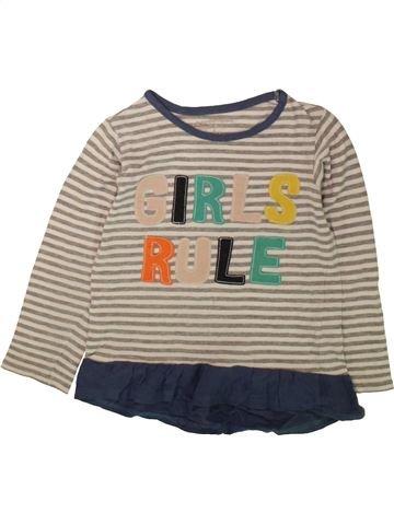 Camiseta de manga larga niña PEP&CO gris 6 años invierno #1489184_1