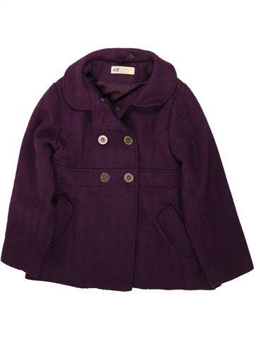 Veste fille H&M violet 7 ans hiver #1489366_1