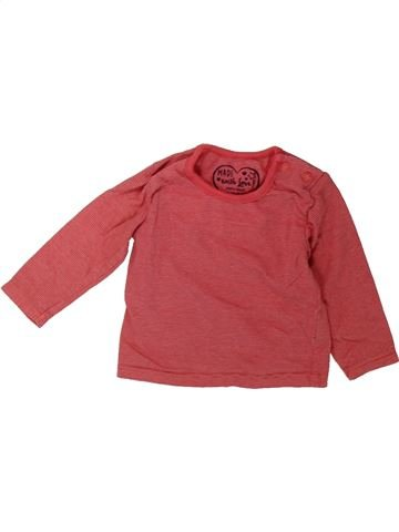 T-shirt manches longues fille PRIMARK rouge 6 mois hiver #1489446_1