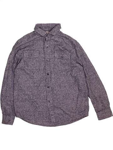 Chemise manches longues garçon NEXT violet 7 ans hiver #1489512_1