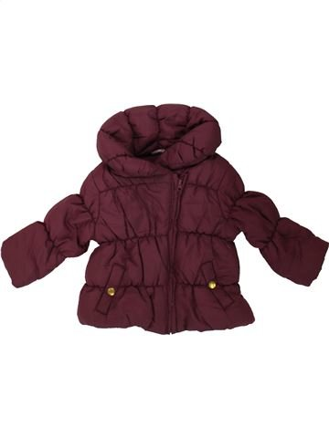 Doudoune fille F&F marron 9 mois hiver #1489596_1