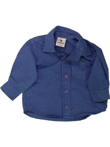 Camisa de manga larga niño LADYBIRD azul 6 meses invierno #1489798_1
