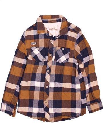Camisa de manga larga niño DENIM 73 marrón 9 años invierno #1489925_1