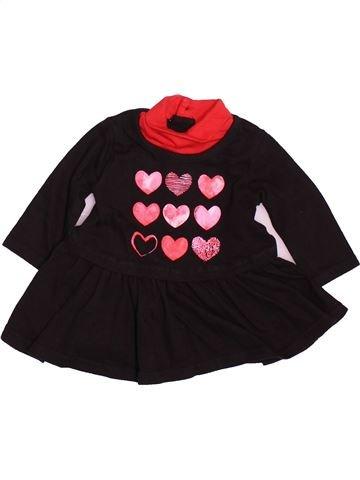 Robe fille SANS MARQUE noir 3 mois hiver #1489953_1