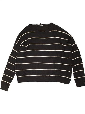 Pull fille NEW LOOK noir 13 ans hiver #1489977_1