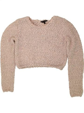 Pull fille CANDY COUTURE beige 12 ans hiver #1490007_1