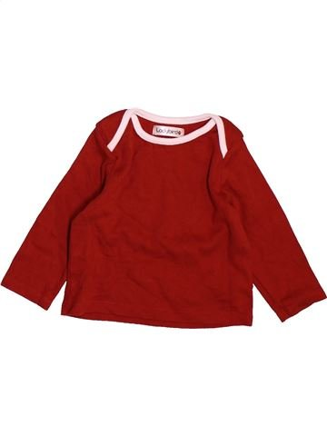 T-shirt manches longues fille LADYBIRD violet 9 mois hiver #1490423_1