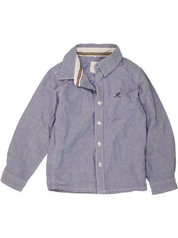 Chemise manches longues garçon NAME IT gris 4 ans hiver #1490469_1
