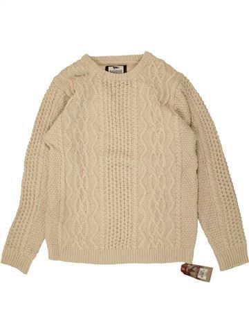 Pull garçon PRIMARK beige 13 ans hiver #1490488_1
