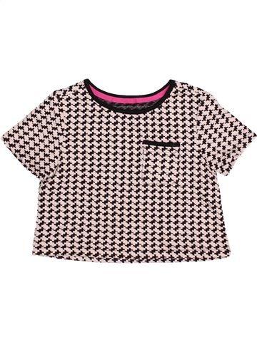 T-shirt manches courtes fille DUNNES STORES violet 7 ans hiver #1490537_1
