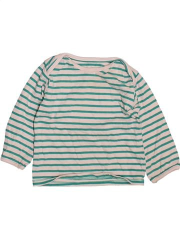 T-shirt manches longues garçon MARKS & SPENCER blanc 12 mois hiver #1490545_1