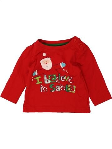 T-shirt manches longues garçon PRIMARK rouge 6 mois hiver #1490573_1