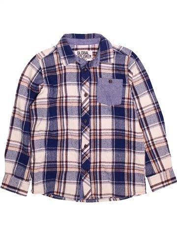 Camisa de manga larga niño MATALAN violeta 9 años invierno #1490677_1