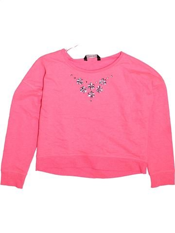 Sweat fille GEORGE rose 9 ans hiver #1490933_1