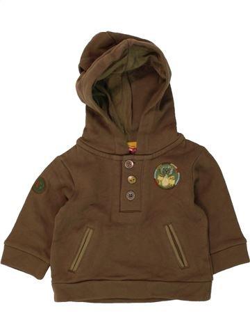 Sudadera niño DPAM marrón 3 meses invierno #1490940_1