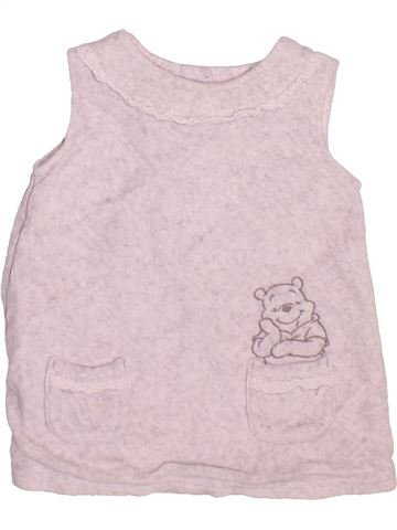 Robe fille GEORGE rose 6 mois hiver #1490969_1