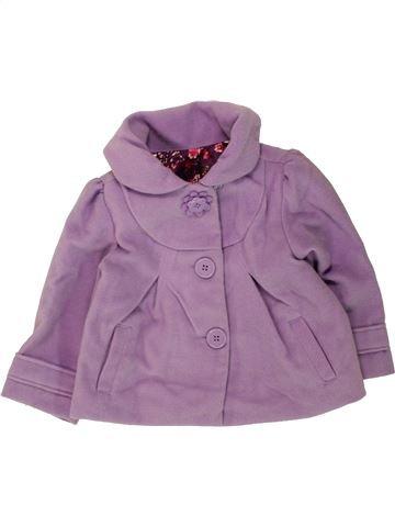 Veste fille GEORGE violet 12 mois hiver #1491022_1