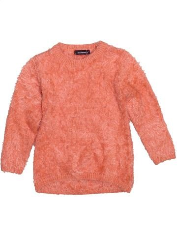 Pull fille IN EXTENSO orange 5 ans hiver #1491027_1
