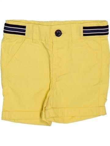 Short - Bermuda garçon TAPE À L'OEIL jaune 12 mois été #1491051_1