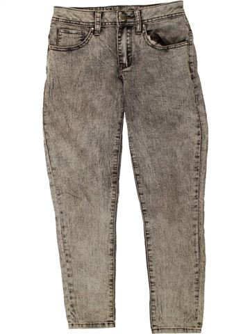 Jean fille PRIMARK gris 10 ans hiver #1491062_1